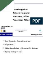 Sony EyeToy Final