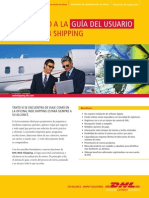 Dhl Web Shipping User Guide Es