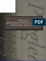 Pregled Arhivskih Fondova i Gradje RH