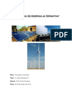 Tecnología de Energía Alternativa
