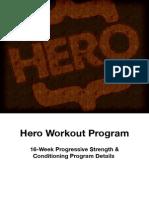 Hero Workout Program