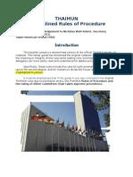 thaimun ii streamlined rules