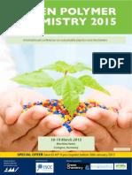 Green Polymer Chemistry 2015 Brochure