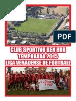 Club Sportivo Ben Hur de Rufino - Temporada 2015