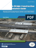 Slide-In Brdge Construction Implentations Guide Fhwa.dot.Gov
