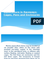 Aquaculture in Raceways