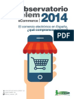 Cetelem Observatorio eCommerce 2014. Electrodomésticos y tecnología