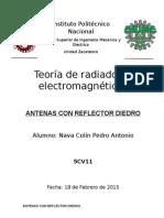 Antenas Con Reflector Diedro