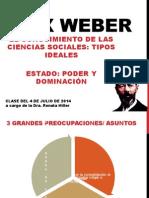 Max Weber Tipos Ideales y Estado