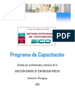 SICO - Programa de Capacitación 2013