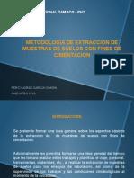 Metodologia de Extraccion de Muestras de Suelo Con Fines de Cimentacion 12-02-2015