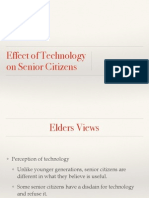 Effects of Technology on Senior Citizens