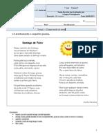 Teste 6 7ºF Poesia