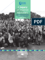NC Teaching Fellows Report