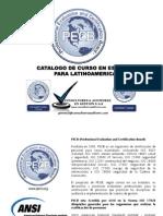 CURSOS CON CERTIFICACION PECB-CANADA EN ESPAÑOL PARA LATINOAMERICA