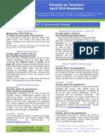 2014 04 newsletter