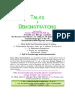 Bi-Aura Talks and Demonsatrations