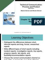 gerson8e ppt16-short, informal reports