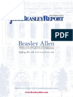 The Jere Beasley Report, Nov. 2012