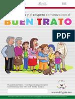 Cartel Buen Trato Familia