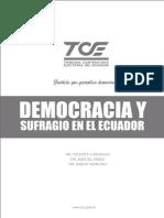Democracia y sufragio en el Ecuador
