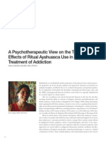 MAPS-A Psychotherapeutic View
