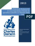 Informe de experimentos Groasis Waterboxx en Galápagos