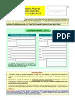 formulario europeu reclamacao