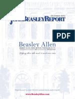 The Jere Beasley Report, Dec. 2012