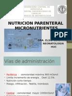 nutricionparenteralelectrolitosvitaminasyoligoelementos-140430133339-phpapp01