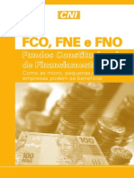 Cartilha Fundos Constitucionais de Financiamento