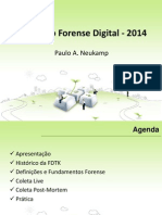 Minicurso Forense Digital 2014