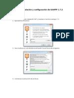Guia de Instalacion XAMPP 1.7.2