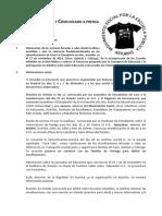 Acuerdos Asamblea y Comunicado a Prensa