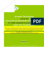 Making Wasteland Productive again with Disposable Biodegradable Groasis Greenboxx