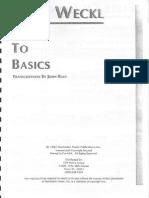 Dave Weckl - Back to Basics