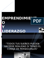 Emprendimiento y Lideyjyjyrazgo - Ebert Alvarez