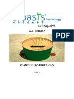 Groasis Waterboxx Handbook on Planting Instructions for Trees & Crops in Desert Regions