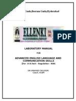 Elcs Lab Manual