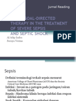 Fix Early Goal-directed Therapy in the Treatment of Severe