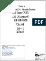 Dell Inspiron M4040 Wistron Enrico14 AMD Brazos UMA Discrete Rev-1