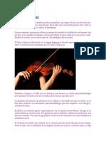 La Libertad de Ser-Metafora Del Violinista