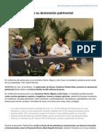 24-02-2015 Padrés Elías presenta su declaración patrimonial. (Excélsior)