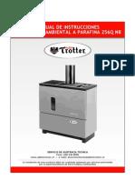 Manual Calefactor at 256q n8