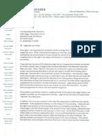 Letter Regarding Judge John Hurley