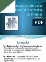 Separación de Arranque de Viruta a Mano