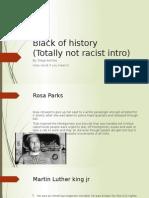 black of history