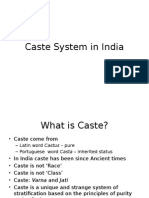 Caste System in India