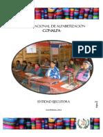 Desempeño Alfabetizacion Guatemala