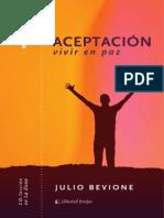 Aceptación, vivir en paz - Capítulo